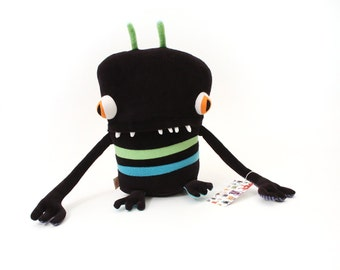"Plush Stuffed Monster ""Lunzana"" Little Cotton Monster"