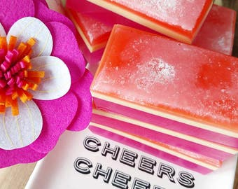 Mothers Day Gift. Gift for Her. SOAP. Salt Bar Scrub Soap. HAWAIIAN GIRL Salt Bar Soap, Pineapple & Orchids. Wife Gift. Gift for Mom. Woman