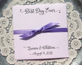 Unique Wedding Favor - Lottery Wedding Favor - Scratch Off Lotto Wedding -Instant Lotto Wedding - Best Day Ever - Wedding Favors