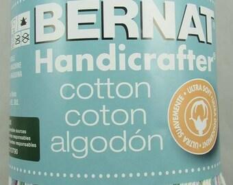 Bernat Handicrafter Cotton Yarn 12 oz. Ball FRESHLY PRESSED