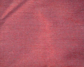 Melon Red Woven Upholstery Fabric -Upholstery Yardage