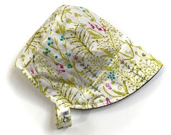 UB2 ORGANIC WHISPER ecoBonnet with matching snap-on neck flap