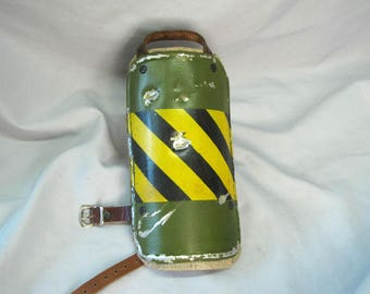 Fallout style shoulder armor with bullet damage.