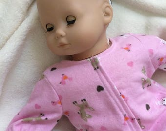 "15"" Doll Bunny Sleeper for Bitty Baby & Twins"