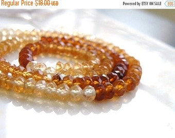Love You 51% off Sale Hessonite Garnet Gemstone Rondelle Beige Rust Brown Autumn Faceted 3.5mm Full Strand 140 beads