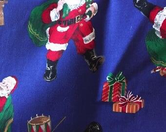half yard of Santa Claus Fabric