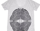 SALE Womens Tshirts | T shirt for women, Insect Tshirt, Butterfly t shirt, Graphic tee, Loose fit T-Shirt, Scoop Neck
