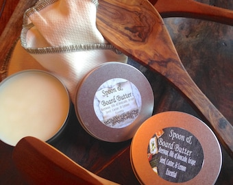 SPOON & BOARD BUTTER ~ Natural Butter for Wood Spoons