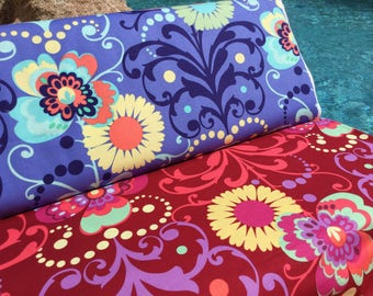 FQ ~ Half Yard ~ By the Yard ~ Paradise Garden ~ 2 colors ~ Love Collection by Amy Butler, Cotton Quilt Fabric