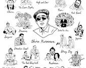 Akira Kurosawa tote bag
