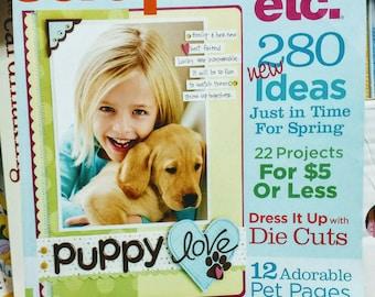 Sale: A Scrapbook etc. Paper Crafting Ideas Magazine
