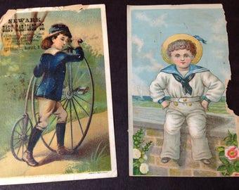 Antique Vintage Ephemera Scraps from the 1880s