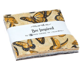 """Bee Inspired by Deb Strain fabric Charm Pack 42 - 5"""" 