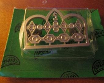 Vintage Awana SPARKS ACHIEVEMENT CROWN Pin Award Charm Trophy Church Free usa shipping