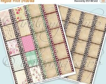 SALE FILMSTRIP collage Digital Images  -printable download file-