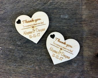 Thank You Tag, Weddings, Bridal Showers, Wedding Shower, Baby Shower, Birthday, Retirement, Rustic, Gift Tag