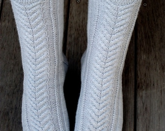 PDF Knitting Pattern - Heathrow Socks