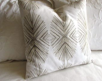 Tulum Sand  decorative pillow cover 20x20