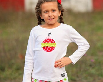 Festive Dot Ornament Shirt-SALE-18 month size