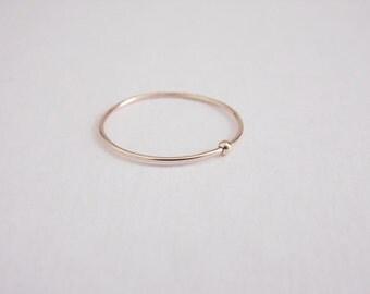 Spinner Ring 14k Gold Filled Stacking Ring