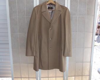 Vintage Zero King 100% Wool Hawthorne Car Coat 43 Long, NWT