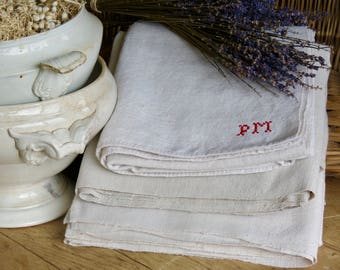 Lovely Old French Hand Loomed Cloths.......Perfect For Your French Buffet