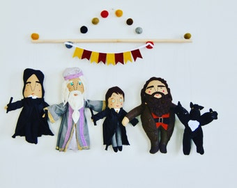Harry Potter Wall Hanging // perfect gift for a Harry Potter Superfan // House Warming // Nursery // Playroom