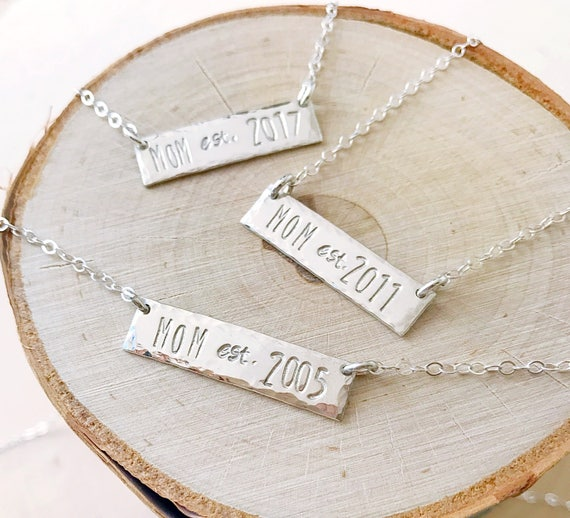 Love these Mom necklaces
