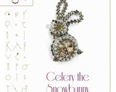 Celery the snowbunny with Swarovski – PDF instruction for personal use only