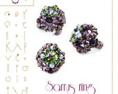 Beading tutorial / pattern Sarrus ring Beading instruction in PDF – for personal use only