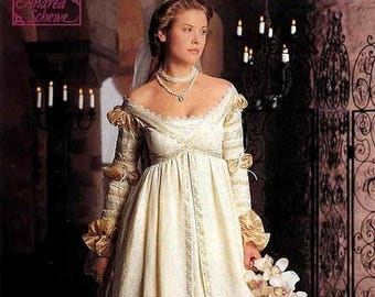 on SALE 25% OFF Simplicity The Ever After Dress Pattern Renaissance Wedding Gown Costume Pattern Misses Size 16 18 20 UNCUT