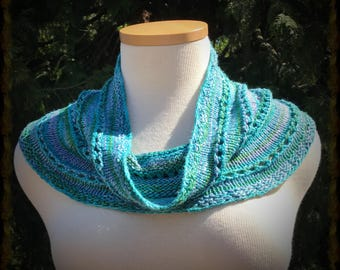 Sequined Silk Cowl