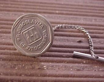 Yugoslavia Coin Tie Tack