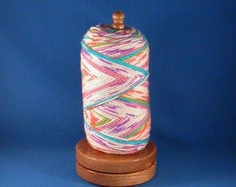 Cherry Yarn/Thread Holder - Specialty Lacquer Finish