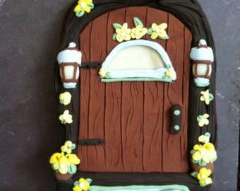 Springtime Welcome Fairy Door