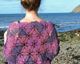 Firefly Crochet Wrap PDF Pattern