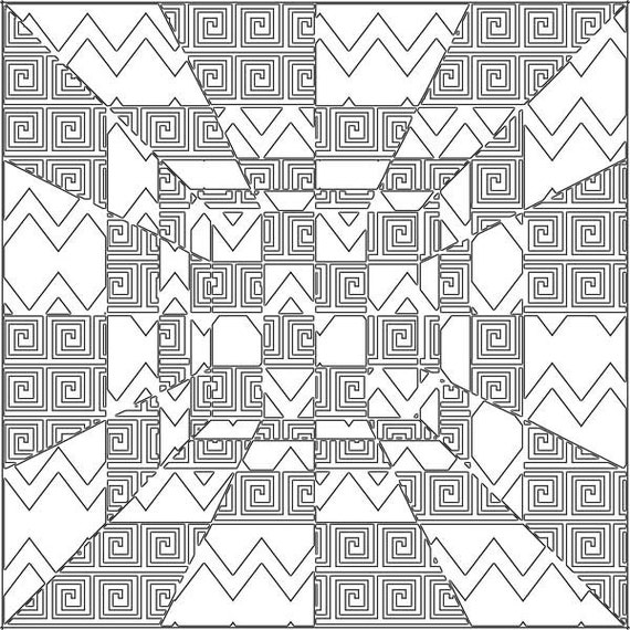 perspective geometric png pattern digital background png images abstract coloring page printable wall art line art png download image
