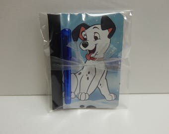 Up cycled MINI Composition Book Disney 101 Dalmations