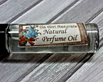Fresh Cut Roses Perfume Oil, Perfume Roll On, Natural Perfume, Perfume