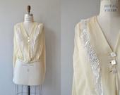 Rosalind silk blouse | vintage 1920s blouse | silk 20s blouse