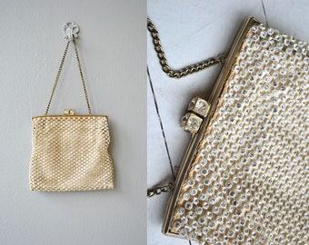 Bright Nights evening bag | vintage 1930s evening bag | beaded 30s purse