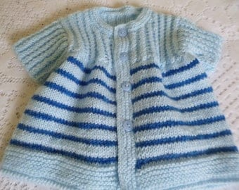 Baby Boy Sweater, Short Sleeves Sweater, Striped Baby Sweater, Knit Newborn Sweater, Spring Sweater, Clothing Newborn, Coming Home.
