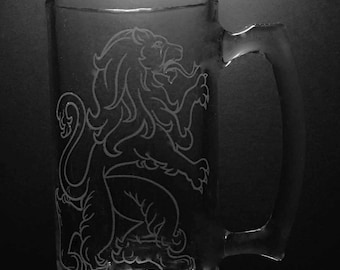 25 ounce Scottish Lion Mug