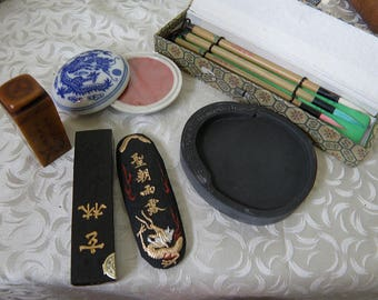 Chinese Calligraphy Items