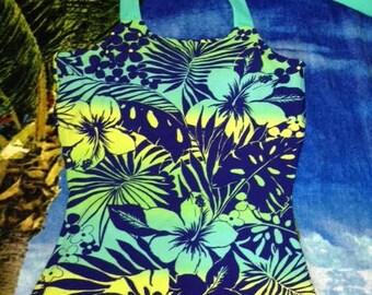 Modest Swim Top ready to ship / custom made