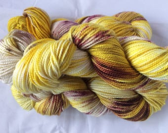 Painted Daisy Sock Yarn