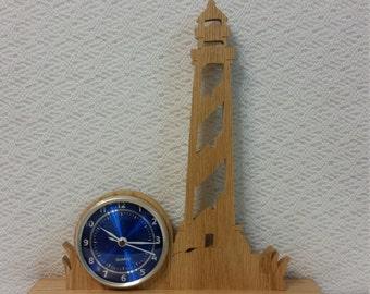 Large version lighthouse clock