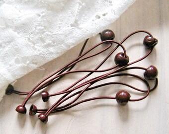 5 pcs Hair elastic ponytail holder (HB001-A)