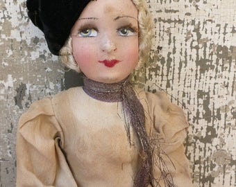 An Antique French Dancing Girl