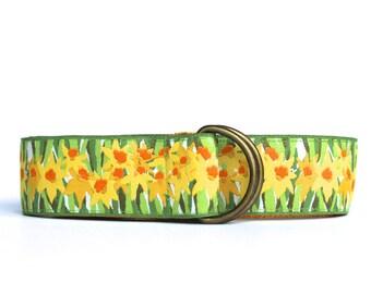 Yellow Daffodil Belt, Summer Daffodil Belt